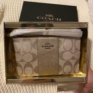 Coach Wristlet in Gift Box